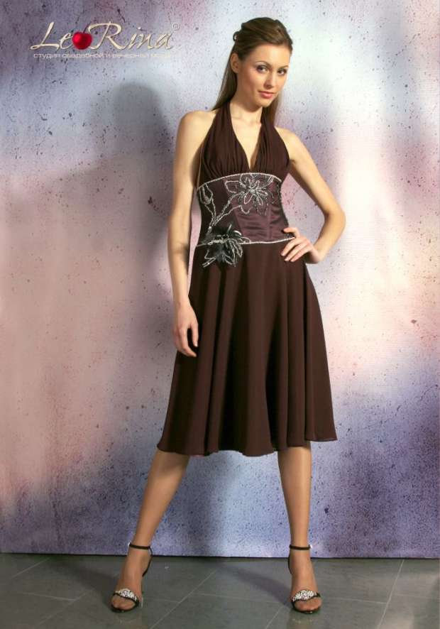 91da8c032c8 Вечернее платье Le Rina Avrora (Аврора) короткое