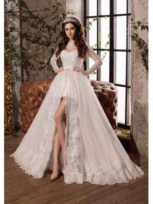 2dd486f48ab0205 Купить короткое свадебное платье в Москве по выгодной цене в салоне ...
